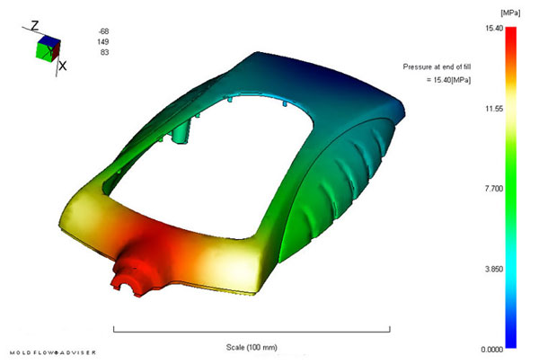 Injection-Molding-Mold-Flow-Study