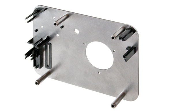 Insert-molded-commercial-disk-drive-component