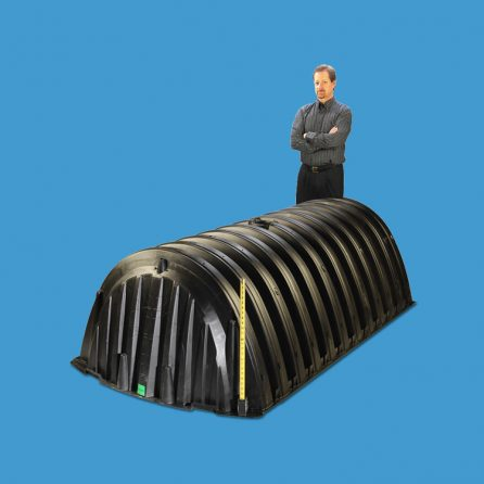 Structural Foam Molded Tank