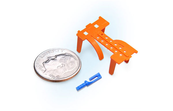 Precision micro molding