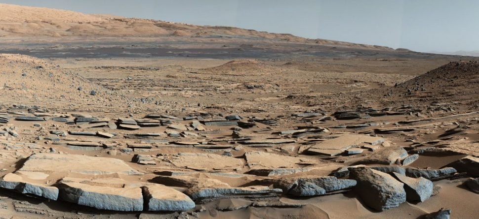 Mars-gale-crater
