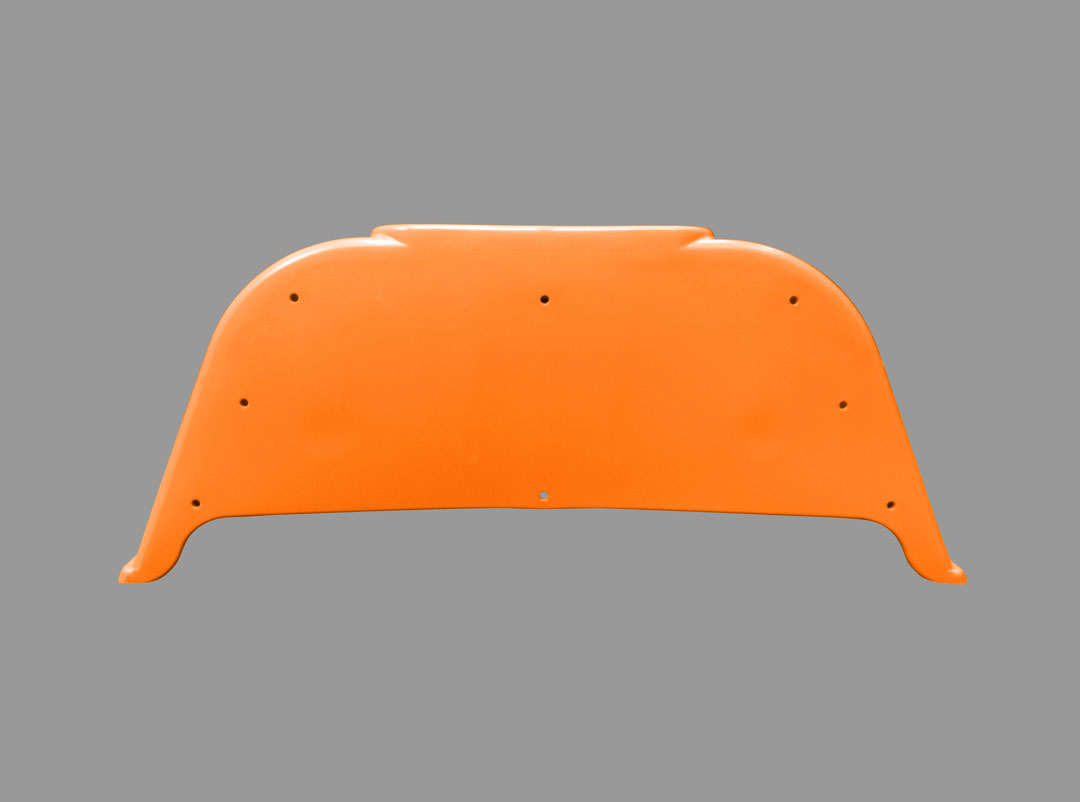 Gas Assist Molded Tractor Fender Part 2