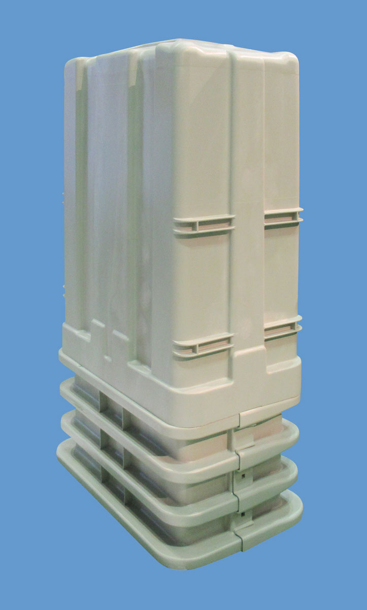 Gas Assisted Molding - Utility Box