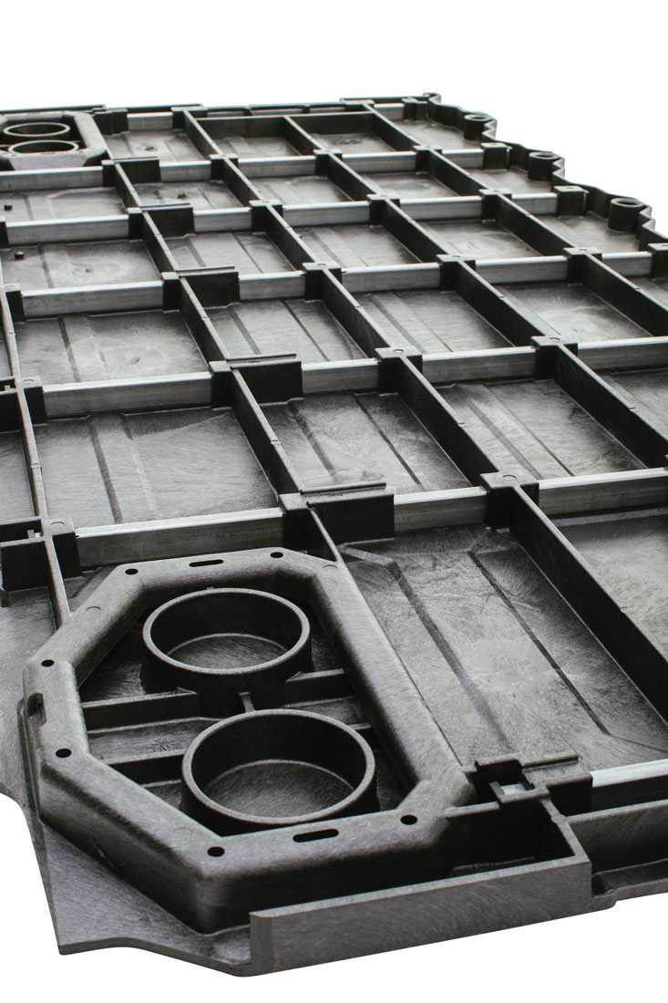 Steel Sub-Frame and Cap Unit on Panel
