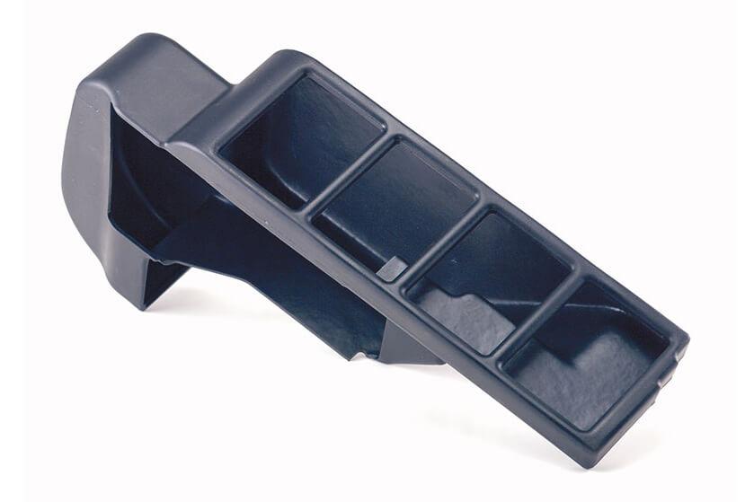 Rotational molded plastic part.