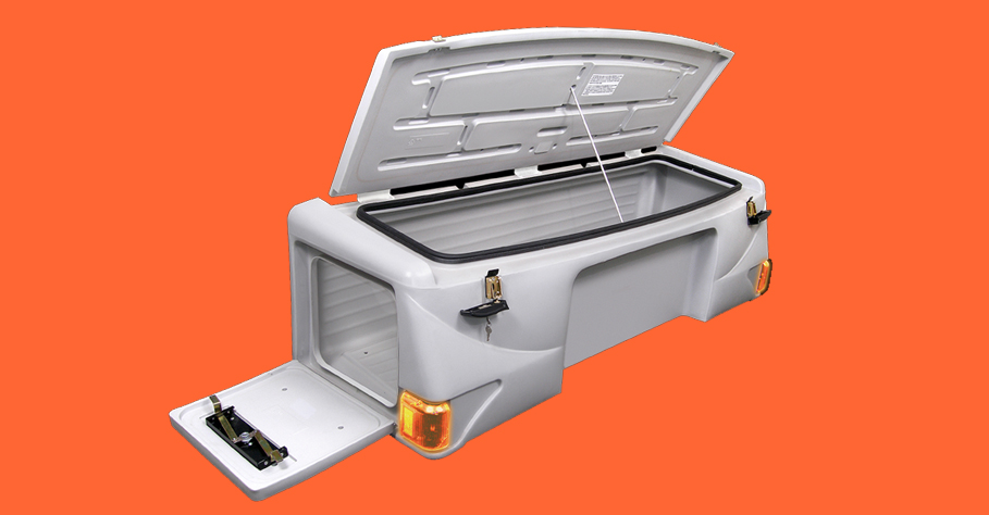 Rotational Molded Truck Bed Storage Case