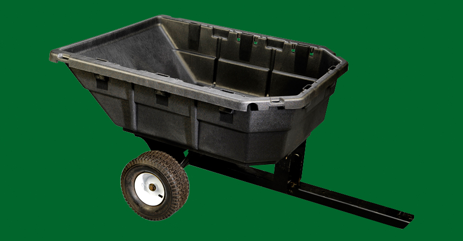 Structural Foam Molded Tractor Cart