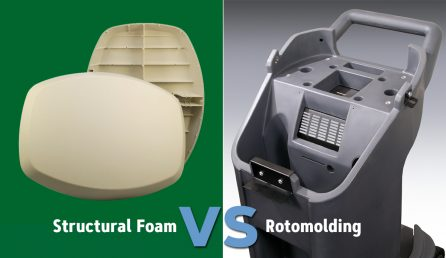 Structural Foam Molding vs Rotational Molding