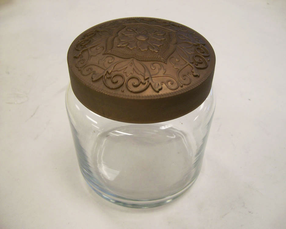 Clear jar and lid produced with SLA